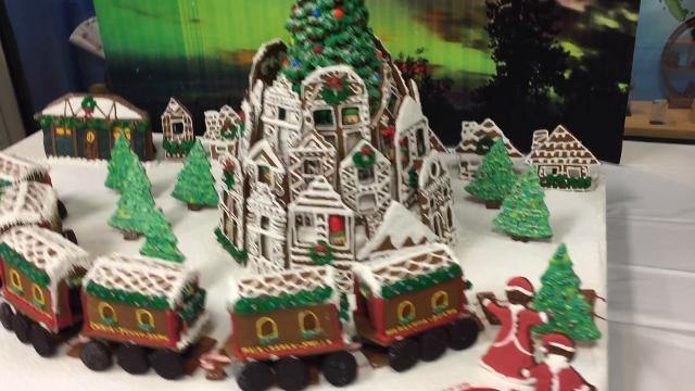 Bergen County Academies Culinary Institute class of 2018 presented its Gingerbread Project in Hackensack.