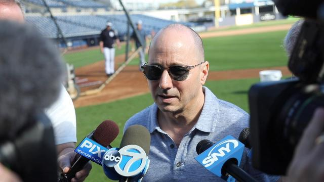 "Yankees GM Brian Cashman makes 2018 goal clear: ""I need another ring."""