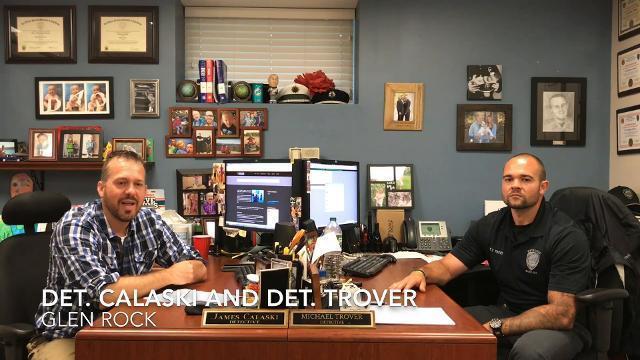 Glen Rock PD detectives offer tips on burglary prevention.