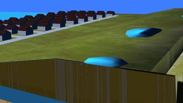 How pollution in groundwater can vaporize into homes