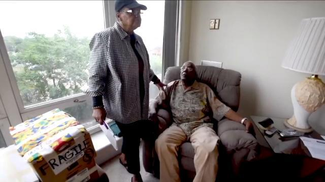 Elderly Detroit couple feel trapped in their own apartment