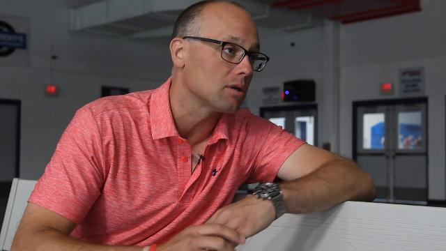 Red Wings coach Jeff Blashill on the team and upcoming season