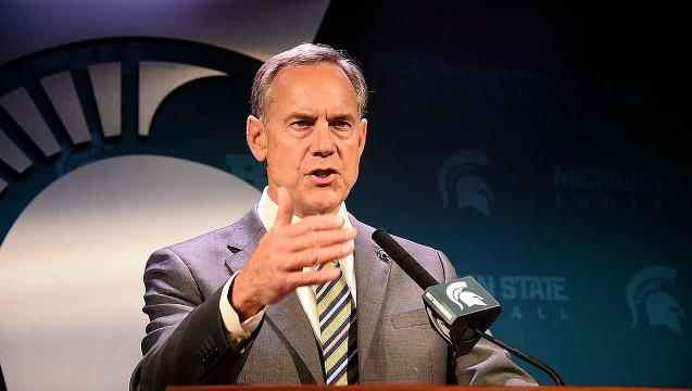 Michigan State's Mark Dantonio at Big Ten media day
