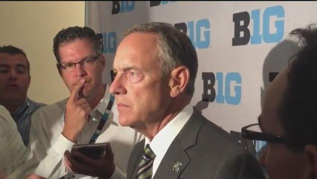 Michigan State's Dantonio on team's freshmen