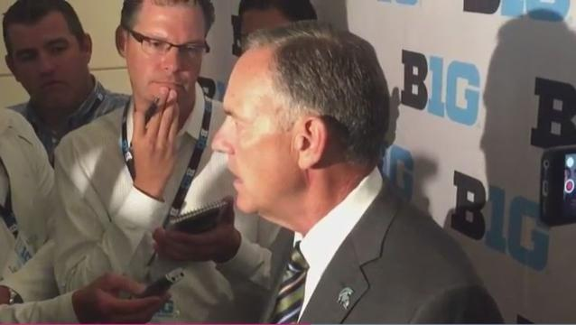 "Michigan State's Dantonio: ""The future is bright"""