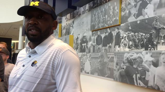 Pep Hamilton on Michigan's passing game
