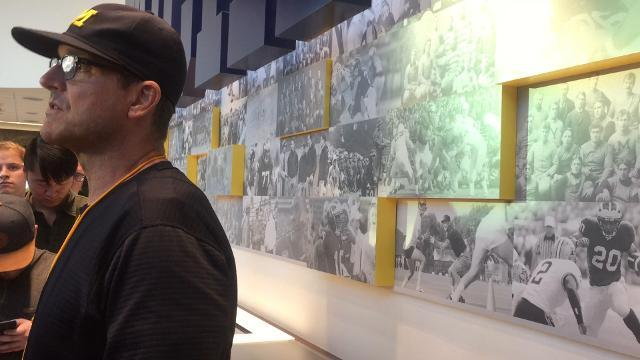 Harbaugh on UM's preseason camp