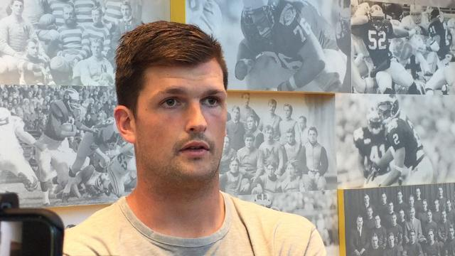 Wilton Speight on taking a leadership role