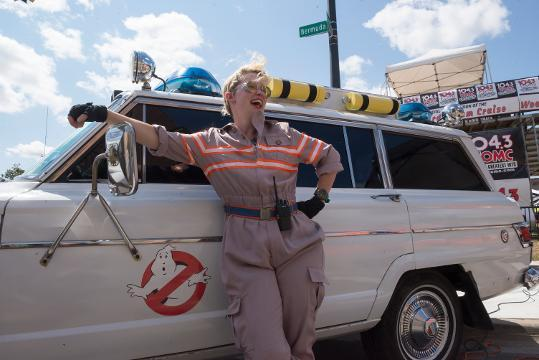 Ghostbusters Detroit bring their Ecto 1 to Ferndale