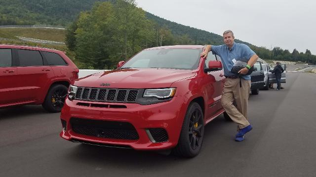 Henry Payne goes zero to sixty in the Jeep Grand Cherokee Trackhawk