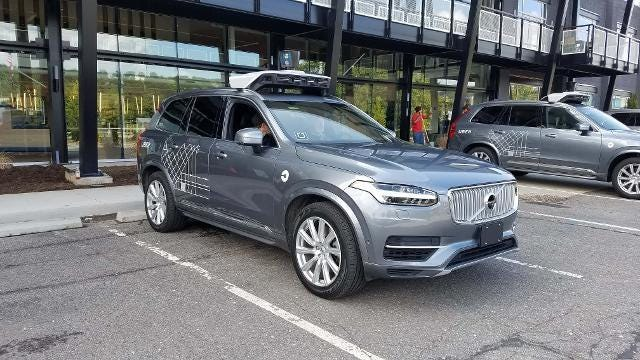 Henry Payne takes a drive in an autonomous Uber