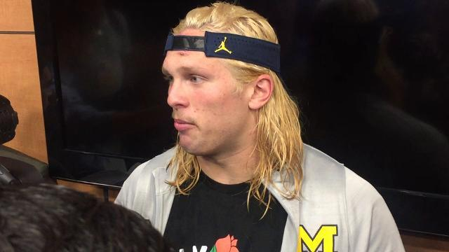 Chase Winovich on adversity