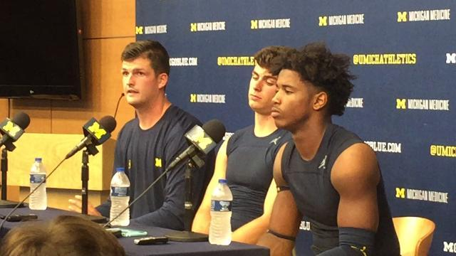 Wilton Speight on Air Force's blitzes