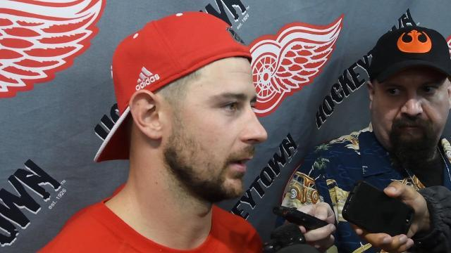 Tatar on his shoulder injury
