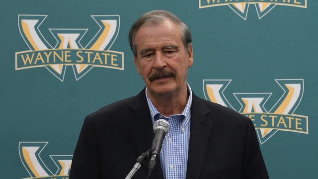 Former President of Mexico Vicente Fox on immigration