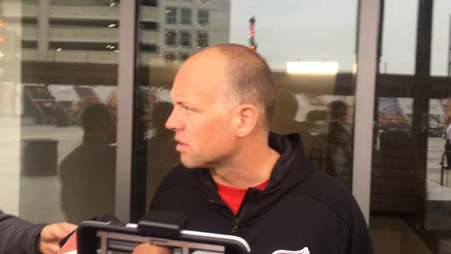 Blashill on getting on ice at Little Caesars Arena