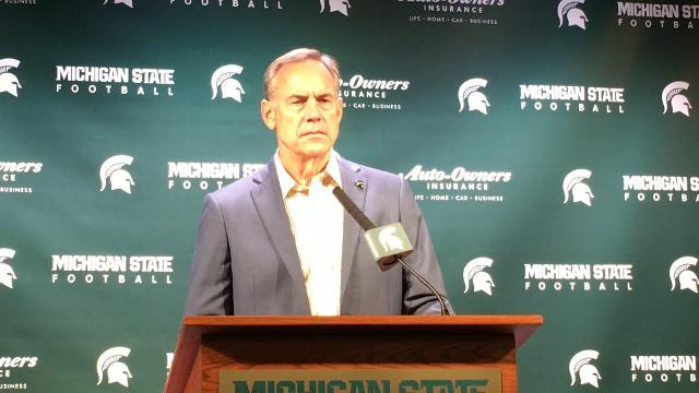 Dantonio: MSU taking things one step at a time