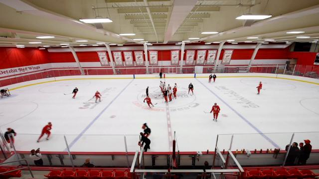 The Red Wings talk about their new training facility