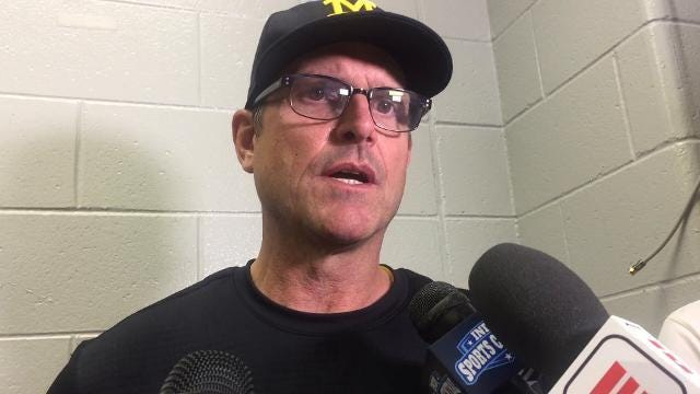 Jim Harbaugh on John O'Korn's performance