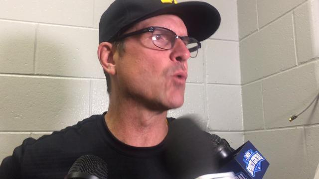 Jim Harbaugh on Wilton Speight's injury