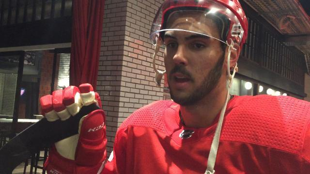 Wings' Sproul looks to adjust his game