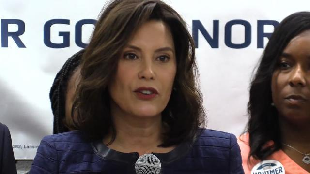 Wayne County's Big Three endorse Gretchen Whitmer for Governor