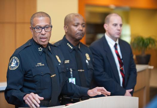 Chief Craig says officer involved in Meijer scuffle put on 'desk duty'