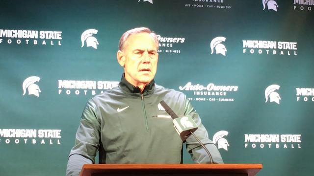 MSU's Dantonio talks about Indiana, Minnesota