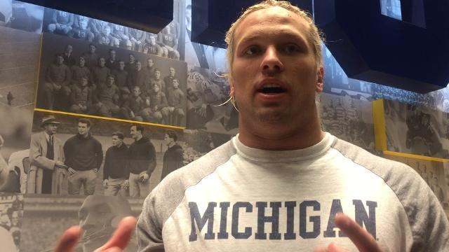 Chase Winovich on falling in the polls