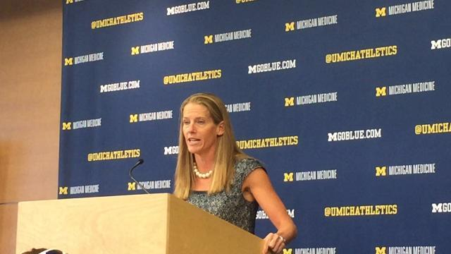 Coach Kim Barnes Arico on Michigan's season