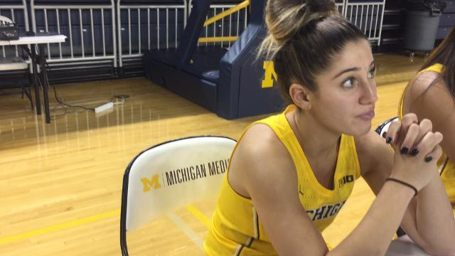 Returning leading scorer Katelynn Flaherty on Michigan's NCAA snub and WNIT victory