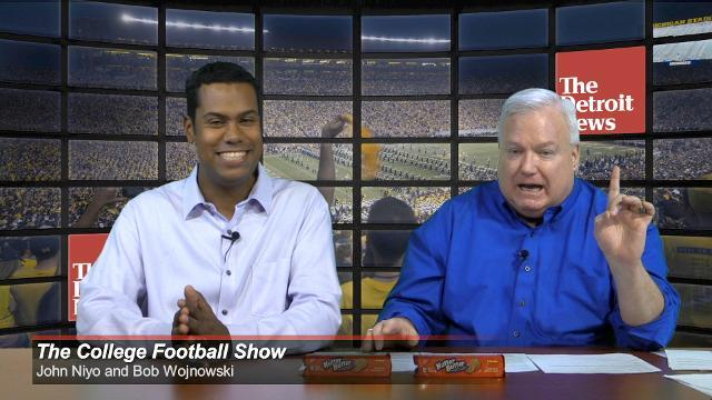 College Football Show: UM-Penn State, MSU-Indiana