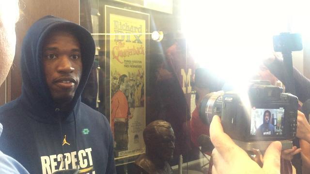 UM's Higdon talks about facing Penn State's Barkley
