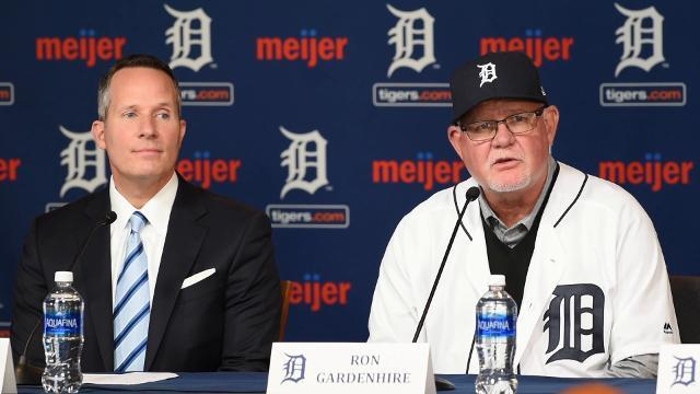 Detroit Tigers introduce manager Ron Gardenhire