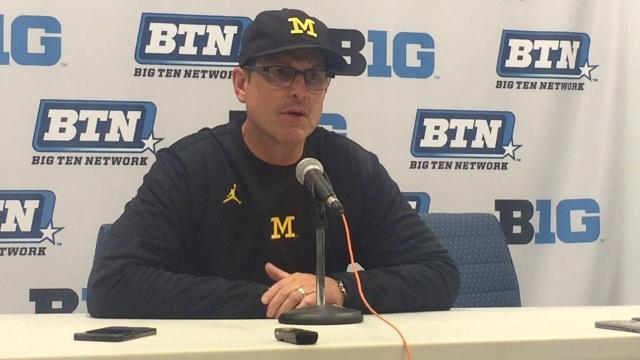 Jim Harbaugh on Penn State's offense