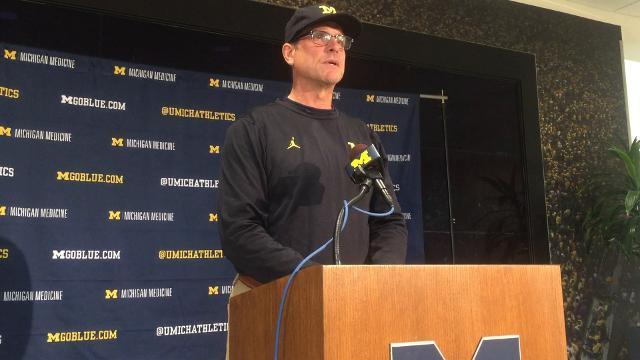 Jim Harbaugh on where team needs to proceed