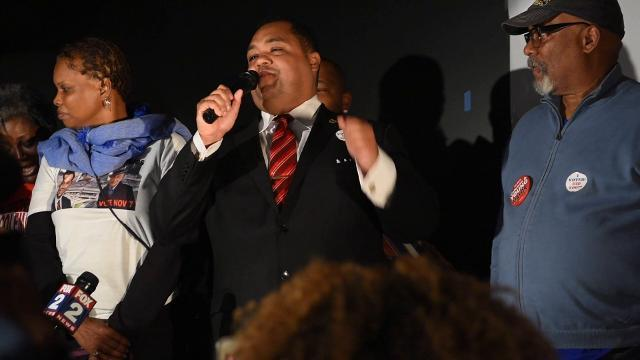 Coleman Young II concession speech