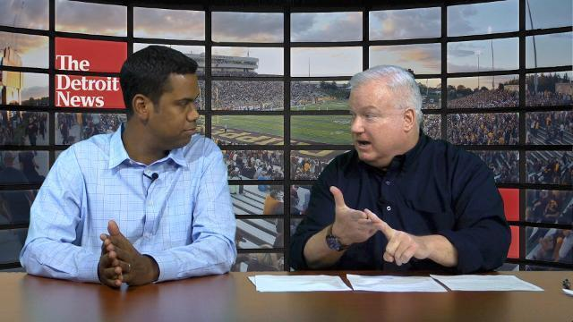 College Football Show: UM-Wisconsin, MSU-Maryland