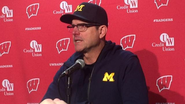 Harbaugh on stalled offense