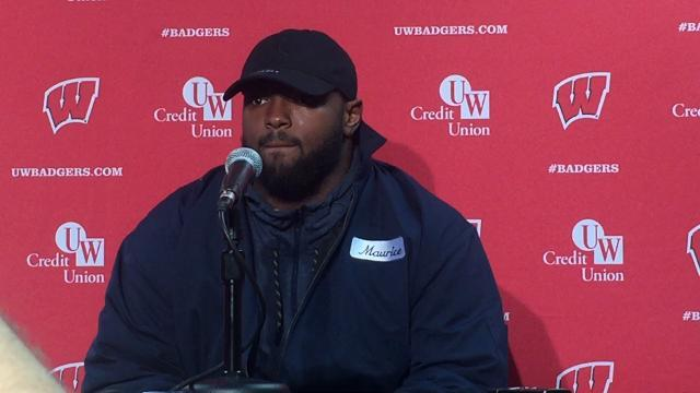 Maurice Hurst on defense's performance vs. Wisconsin