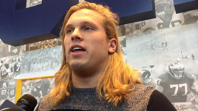 UM's Winovich talks about facing Ohio State
