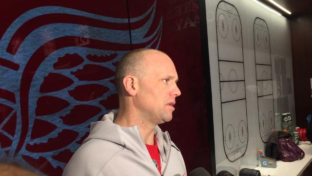 Wings' Blashill talks about facing Oilers