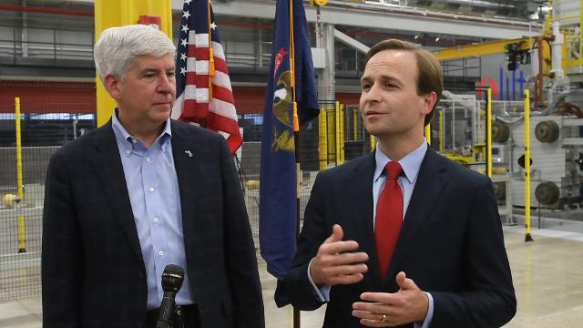 Gov. Rick Snyder and Lt. Gov. Brian Calley on Michigan's comeback