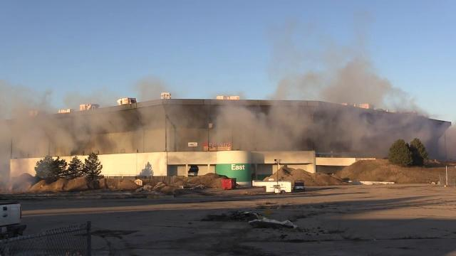 First Silverdome implosion attempt underwhelms