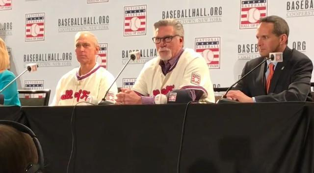 Jack Morris emotional at his Hall of Fame press conference