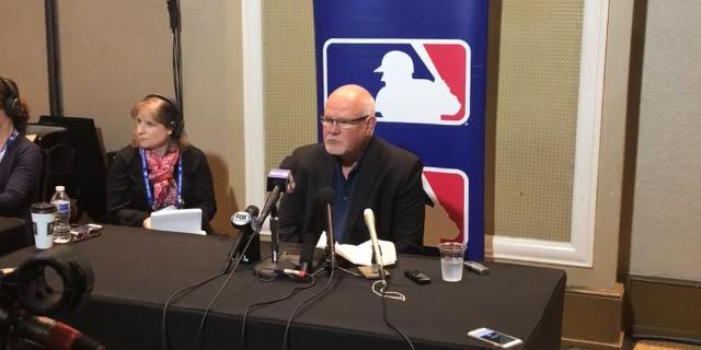 Tigers' Gardenhire talks at MLB winter meetings