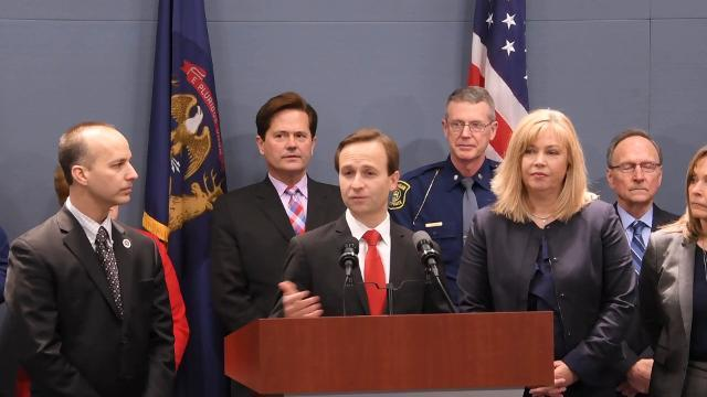 Lt. Gov. Calley signs opioid legislation