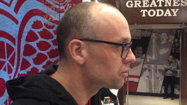 Wings' Blashill likes Hicketts' 'swagger'