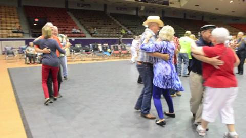 Cajun dancing at the NSU Folk Festival in Natchitoches Saturday, July 19, 2014.-Melinda Martinez/mmartinez@thetowntalk.com