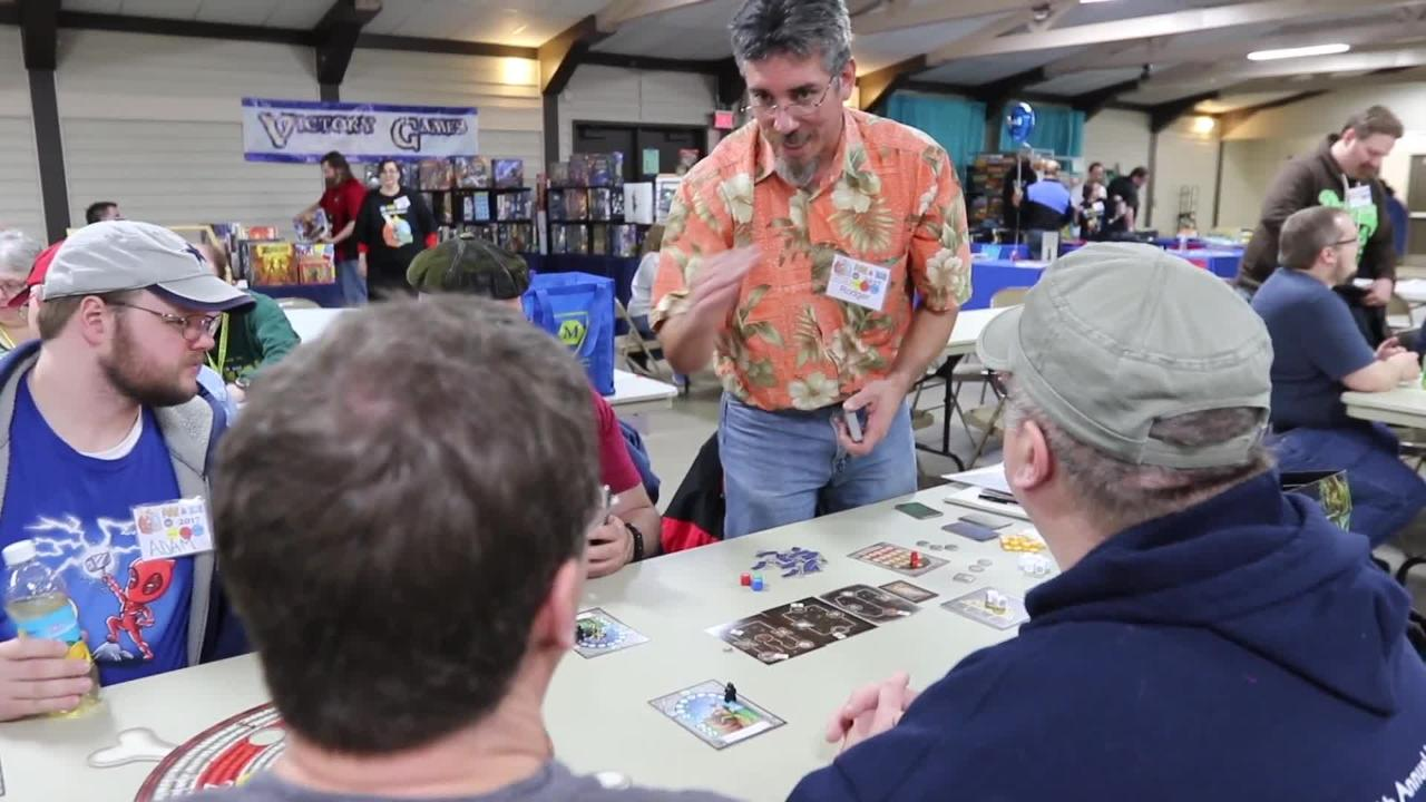 Gamers from all over Wisconsin and the Midwest flock to Manitowoc to check out a variety of games at the Fire & Ice gaming convention.